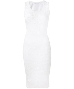 Victoria Beckham   Smocked Fitted Dress