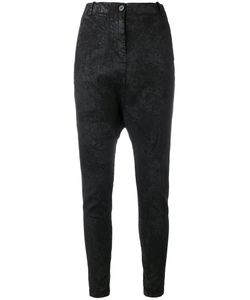 Masnada | Textured Drop Crotch Trousers
