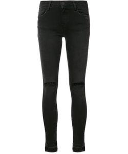 Etienne Marcel | Distressed Skinny Jeans 24 Cotton/Spandex/Elastane