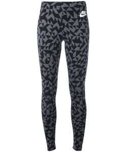 Nike | Printed Leggings Small Cotton/Spandex/Elastane