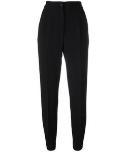 Dolce & Gabbana | High-Waisted Trousers 42 Virgin Wool/Spandex/Elastane