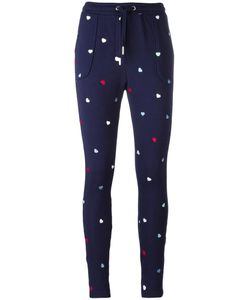 Zoe Karssen | Hearts Print Sweatpants Xs Cotton/Polyester