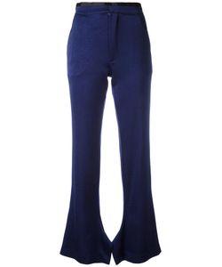 Erika Cavallini | Olive Flared Trousers Size 38