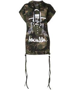 HACULLA | Camouflage Print Sleeveless Hoody Size Xs