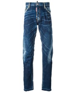 Dsquared2 | Mac Daddy Whisker Effect Jeans 48 Cotton/Spandex/Elastane