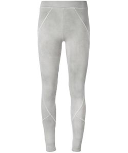 THOM KROM | Diagonal Detail Leggings Medium Cotton/Spandex/Elastane