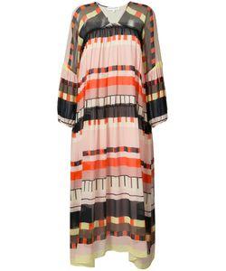 A PIECE APART | Длинное Платье С Абстрактным Принтом