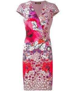 Roberto Cavalli | Платье С Принтом Garden Of Eden
