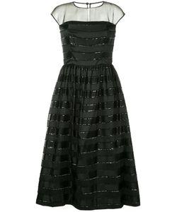 INGIE PARIS | Платье В Полоску С Кружевной Отделкой