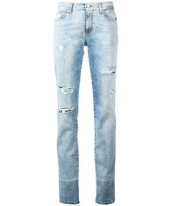 Versace Jeans | Distressed Slim-Fit Jeans 28