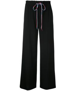 LE CIEL BLEU | Contrast String Relaxed Trousers Women