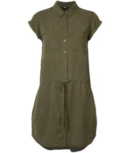 Paige | Drawstring Shirt Dress