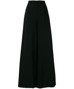 Pierre Balmain | Embroide Piped Palazzo Pants 42 Viscose/Spandex/Elastane