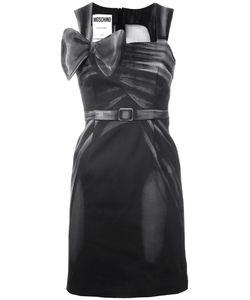 Moschino | Приталенное Платье С Бантом