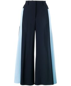 Peter Pilotto | Stripe Side Fla Trousers 12 Acetate/Viscose