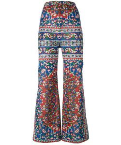 Mes Demoiselles | Print Flared Trousers Size 38