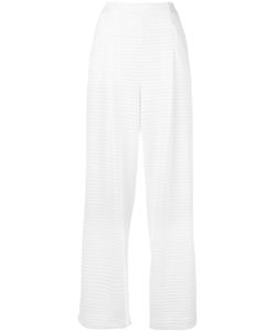 Emporio Armani | High-Waisted Trousers 38 Polyester/Spandex/Elastane/Polyamide