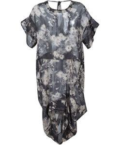 Malia Mills   Перфорированое Пляжное Платье