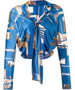 FERNANDA YAMAMOTO | Lace Up Bolero Jacket