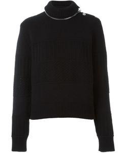 Givenchy | Джемпер С Декоративной Молнией