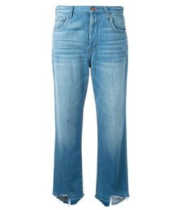 J Brand   Ivy High Rise Cropped Jeans Size 24