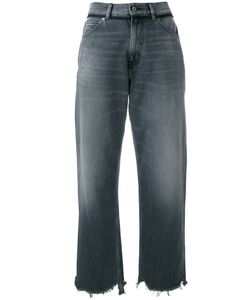 Golden Goose | Deluxe Brand Cropped Stonewashed Jeans