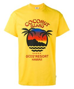 Gcds | Coconut Island T-Shirt Size Xs
