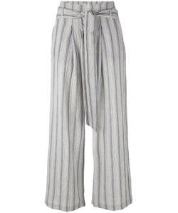 Masscob | Striped Cropped Trousers 42