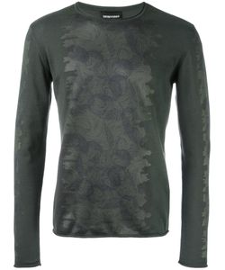 Emporio Armani   Printed Sweatshirt 50 Cotton/Polyester