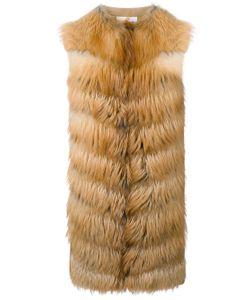 Manzoni 24 | Panelled Sleeveless Coat