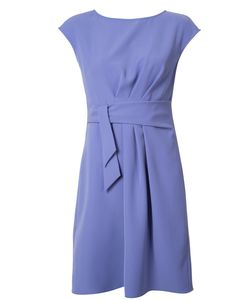 Armani Collezioni | Belted Draped Dress 50 Polyester