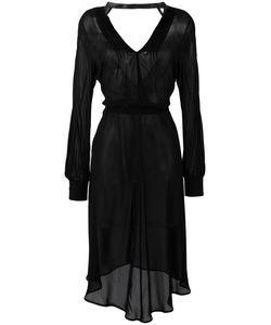 JUNYA WATANABE COMME DES GARCONS | Junya Watanabe Comme Des Garçons Sheer Mid-Length Dress
