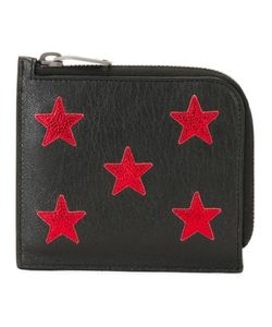 Saint Laurent | Star Embroidered Wallet