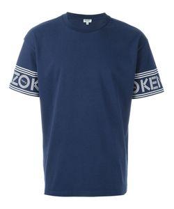 Kenzo | Футболка С Принтом Логотипа На Рукавах