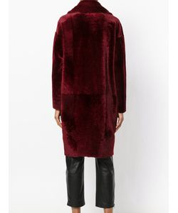 Drome | Double Breasted Fur Coat