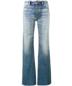 Saint Laurent | Raw-Cut Fla Jeans 27 Cotton