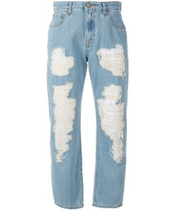 Vivienne Westwood Anglomania | Cropped Distressed Jeans