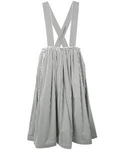 COMME DES GARCONS COMME DES GARCONS | Comme Des Garçons Comme Des Garçons Striped Shoulder Strap Skirt
