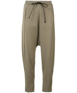 Isabel Benenato | Drop Crotch Track Pants