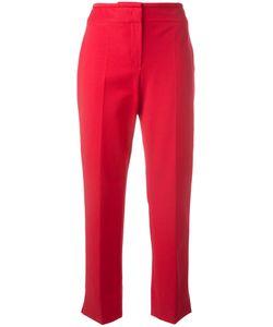 Armani Collezioni | Cropped Tailo Trousers 46 Cotton/Polyamide/Spandex/Elastane