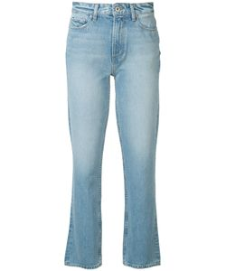 Paige | Stonewashed Cropped Jeans 25 Cotton/Spandex/Elastane