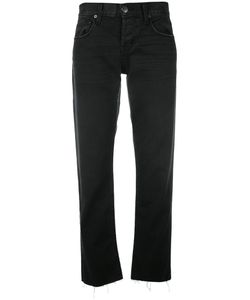Current/Elliott | The Crossover Cropped Jeans 27 Cotton/Spandex/Elastane