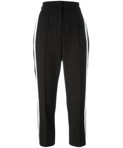 Dolce & Gabbana | Contrast Piped Cropped Trousers 40