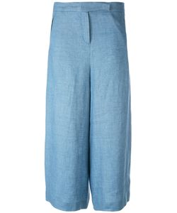 Loro Piana | Wide-Legged Cropped Trousers Size 44
