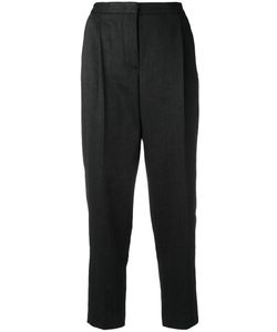 MSGM | Cropped Trousers 38 Cotton/Linen/Flax