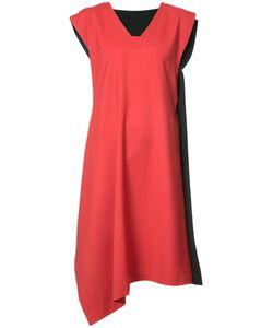 Issey Miyake | Двухцветное Асимметричное Платье