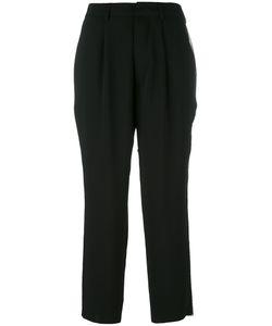 Aviù | Side Stripe Cropped Trousers
