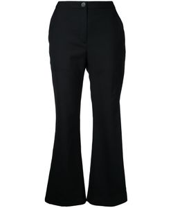 Eudon Choi | Flared Cropped Trousers Size 8
