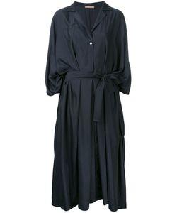 Nehera | Midi Wrap Dress Medium Polyester/Cupro