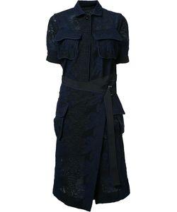 Sacai | Lace Pocketed Dress 1 Cupro/Cotton